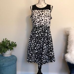 Vera wang dress fit and flare size Large